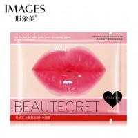 Коллагеновая маска для губ с экстрактом персика и акации