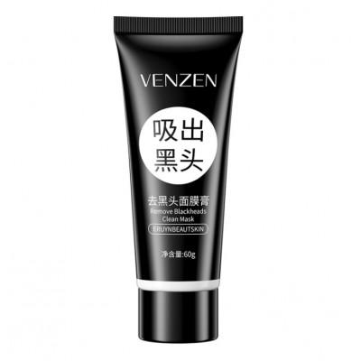 Черная маска-пленка VENZEN с активированным углем